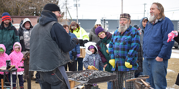 Blacksmith Demonstrations (Fire on the Ice)