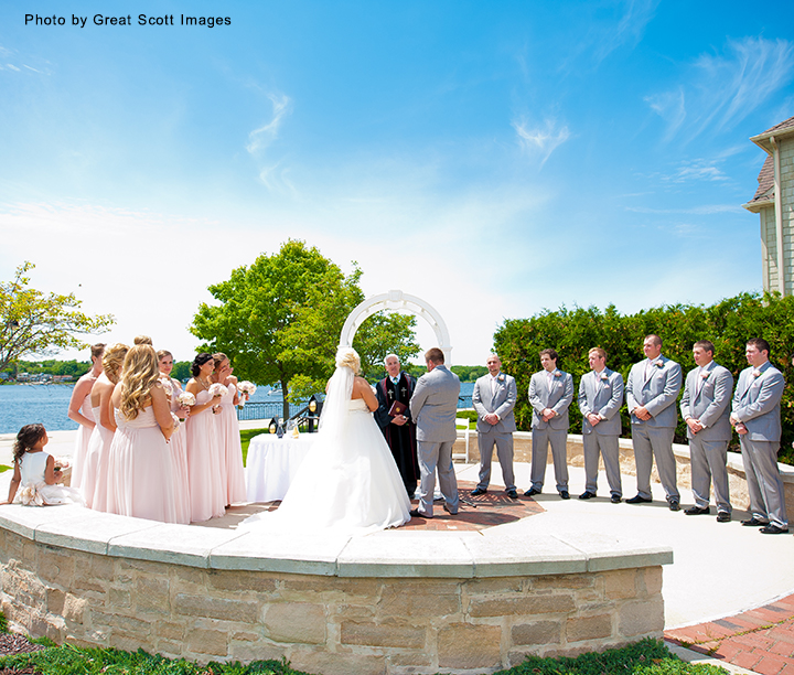Stone Harbor Resort Wedding Ceremony